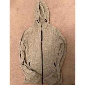 HBC Sport Grey Hooded Sweater Jacket